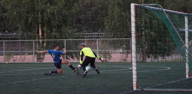Lauri Heittola tekemässä 4-1 -maalia