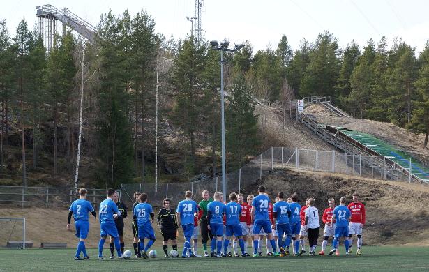 Ottelu pelattiin Jouppilanvuoren laskettelukeskuksen kupeessa