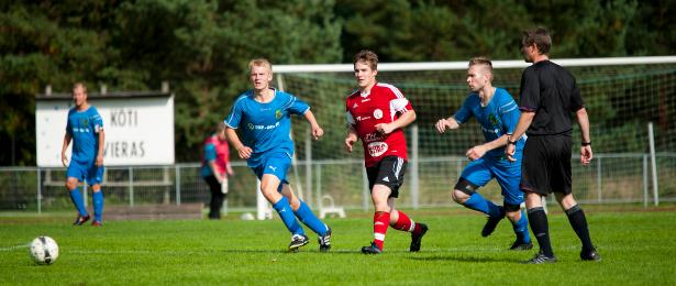Etualalla Markus Silvennoinen ja Jonne Keränen