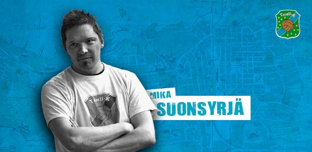 Päävalmentaja Mika Suonsyrjä