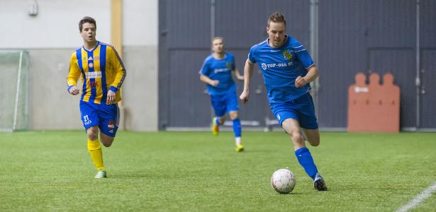 Petri Vadén pelasi erinomaisen ottelun vasemmalla laidalla