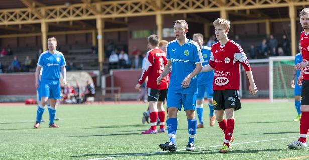Kakkosjoukkueen Mikko Ojanen sai peliaikaa ottelu lopussa